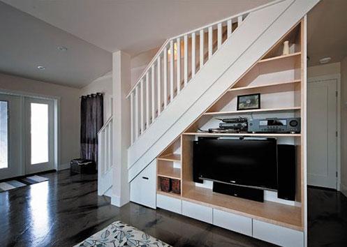 首页 位置 首页 英国房产投资周报 家装艺术  将楼梯间改造成电视墙
